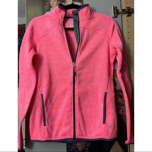 CHAMPION Bubblegum pink zip up sweater/jacket